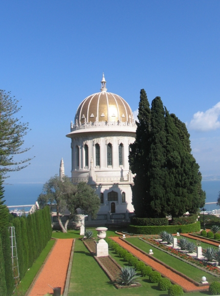 The Baha'i shrine and gardens are said to be the most-visited site in Israel.